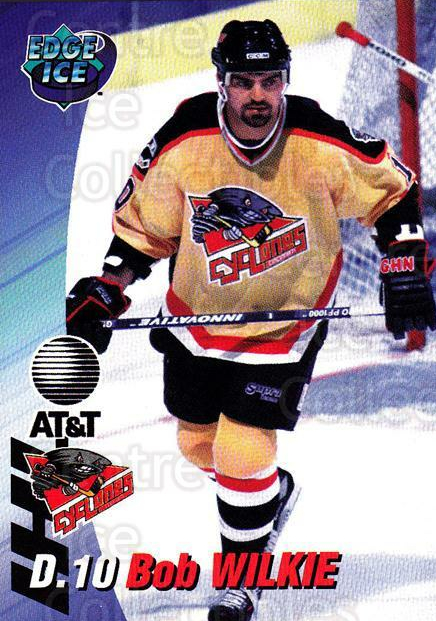 1995-96 Cincinnati Cyclones #20 Bob Wilkie<br/>2 In Stock - $3.00 each - <a href=https://centericecollectibles.foxycart.com/cart?name=1995-96%20Cincinnati%20Cyclones%20%2320%20Bob%20Wilkie...&quantity_max=2&price=$3.00&code=210728 class=foxycart> Buy it now! </a>