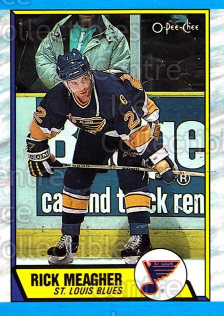 1989-90 O-Pee-Chee #116 Rick Meagher<br/>7 In Stock - $1.00 each - <a href=https://centericecollectibles.foxycart.com/cart?name=1989-90%20O-Pee-Chee%20%23116%20Rick%20Meagher...&quantity_max=7&price=$1.00&code=21072 class=foxycart> Buy it now! </a>