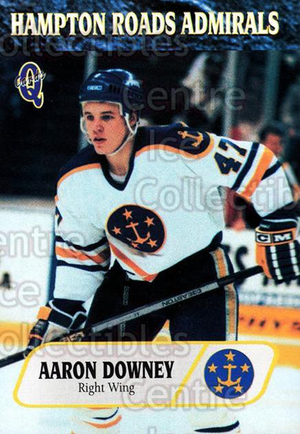 1995-96 Hampton Roads Admirals #20 Aaron Downey<br/>1 In Stock - $3.00 each - <a href=https://centericecollectibles.foxycart.com/cart?name=1995-96%20Hampton%20Roads%20Admirals%20%2320%20Aaron%20Downey...&quantity_max=1&price=$3.00&code=210739 class=foxycart> Buy it now! </a>