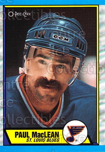 1989-90 O-Pee-Chee #129 Paul MacLean<br/>5 In Stock - $1.00 each - <a href=https://centericecollectibles.foxycart.com/cart?name=1989-90%20O-Pee-Chee%20%23129%20Paul%20MacLean...&quantity_max=5&price=$1.00&code=21084 class=foxycart> Buy it now! </a>