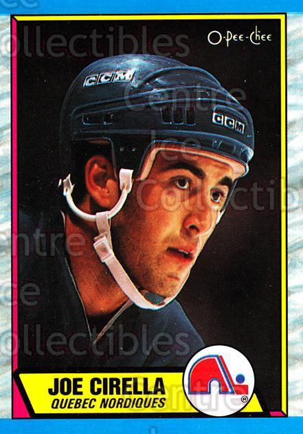 1989-90 O-Pee-Chee #130 Joe Cirella<br/>7 In Stock - $1.00 each - <a href=https://centericecollectibles.foxycart.com/cart?name=1989-90%20O-Pee-Chee%20%23130%20Joe%20Cirella...&quantity_max=7&price=$1.00&code=21086 class=foxycart> Buy it now! </a>
