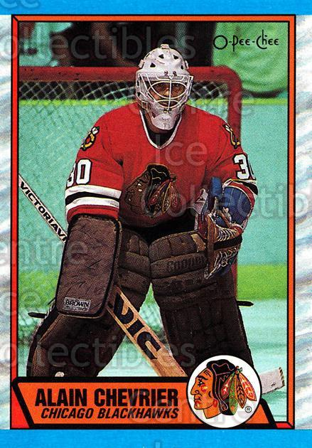 1989-90 O-Pee-Chee #132 Alain Chevrier<br/>8 In Stock - $1.00 each - <a href=https://centericecollectibles.foxycart.com/cart?name=1989-90%20O-Pee-Chee%20%23132%20Alain%20Chevrier...&quantity_max=8&price=$1.00&code=21088 class=foxycart> Buy it now! </a>