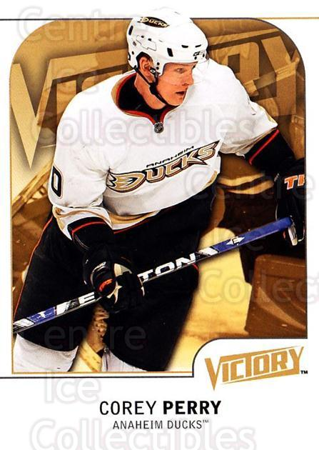 2009-10 UD Victory #4 Corey Perry<br/>4 In Stock - $1.00 each - <a href=https://centericecollectibles.foxycart.com/cart?name=2009-10%20UD%20Victory%20%234%20Corey%20Perry...&quantity_max=4&price=$1.00&code=210971 class=foxycart> Buy it now! </a>