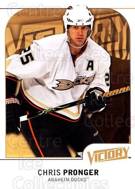 2009-10 UD Victory #5 Chris Pronger<br/>3 In Stock - $1.00 each - <a href=https://centericecollectibles.foxycart.com/cart?name=2009-10%20UD%20Victory%20%235%20Chris%20Pronger...&quantity_max=3&price=$1.00&code=210972 class=foxycart> Buy it now! </a>
