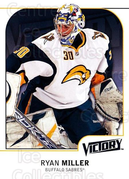 2009-10 UD Victory #22 Ryan Miller<br/>3 In Stock - $1.00 each - <a href=https://centericecollectibles.foxycart.com/cart?name=2009-10%20UD%20Victory%20%2322%20Ryan%20Miller...&quantity_max=3&price=$1.00&code=210989 class=foxycart> Buy it now! </a>