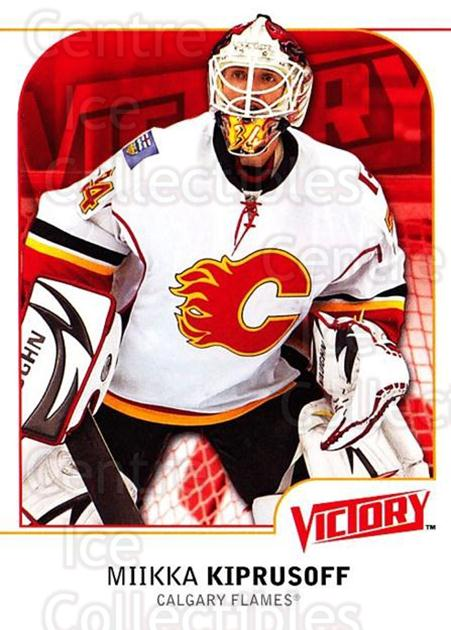 2009-10 UD Victory #31 Miikka Kiprusoff<br/>4 In Stock - $1.00 each - <a href=https://centericecollectibles.foxycart.com/cart?name=2009-10%20UD%20Victory%20%2331%20Miikka%20Kiprusof...&quantity_max=4&price=$1.00&code=210998 class=foxycart> Buy it now! </a>