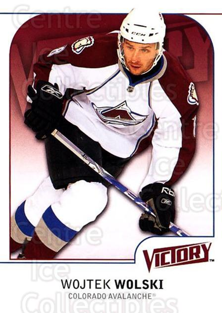 2009-10 UD Victory #54 Wojtek Wolski<br/>4 In Stock - $1.00 each - <a href=https://centericecollectibles.foxycart.com/cart?name=2009-10%20UD%20Victory%20%2354%20Wojtek%20Wolski...&quantity_max=4&price=$1.00&code=211021 class=foxycart> Buy it now! </a>