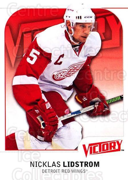 2009-10 UD Victory #69 Nicklas Lidstrom<br/>3 In Stock - $1.00 each - <a href=https://centericecollectibles.foxycart.com/cart?name=2009-10%20UD%20Victory%20%2369%20Nicklas%20Lidstro...&quantity_max=3&price=$1.00&code=211036 class=foxycart> Buy it now! </a>