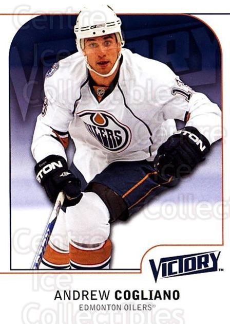 2009-10 UD Victory #77 Andrew Cogliano<br/>4 In Stock - $1.00 each - <a href=https://centericecollectibles.foxycart.com/cart?name=2009-10%20UD%20Victory%20%2377%20Andrew%20Cogliano...&quantity_max=4&price=$1.00&code=211044 class=foxycart> Buy it now! </a>