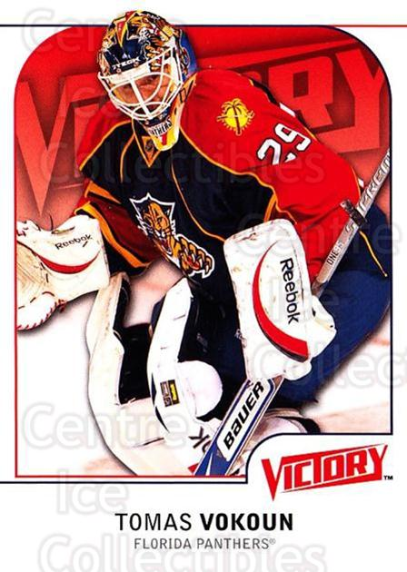 2009-10 UD Victory #85 Tomas Vokoun<br/>4 In Stock - $1.00 each - <a href=https://centericecollectibles.foxycart.com/cart?name=2009-10%20UD%20Victory%20%2385%20Tomas%20Vokoun...&quantity_max=4&price=$1.00&code=211052 class=foxycart> Buy it now! </a>