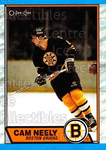 1989-90 O-Pee-Chee #15 Cam Neely<br/>7 In Stock - $1.00 each - <a href=https://centericecollectibles.foxycart.com/cart?name=1989-90%20O-Pee-Chee%20%2315%20Cam%20Neely...&quantity_max=7&price=$1.00&code=21106 class=foxycart> Buy it now! </a>
