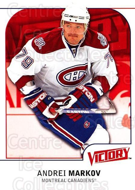 2009-10 UD Victory #105 Andrei Markov<br/>4 In Stock - $1.00 each - <a href=https://centericecollectibles.foxycart.com/cart?name=2009-10%20UD%20Victory%20%23105%20Andrei%20Markov...&quantity_max=4&price=$1.00&code=211072 class=foxycart> Buy it now! </a>