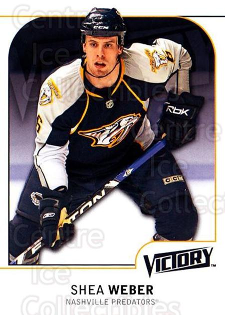 2009-10 UD Victory #114 Shea Weber<br/>4 In Stock - $1.00 each - <a href=https://centericecollectibles.foxycart.com/cart?name=2009-10%20UD%20Victory%20%23114%20Shea%20Weber...&quantity_max=4&price=$1.00&code=211081 class=foxycart> Buy it now! </a>