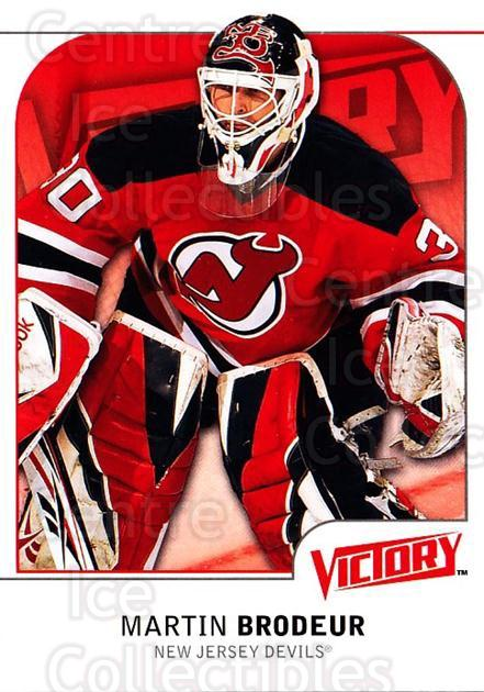 2009-10 UD Victory #116 Martin Brodeur<br/>3 In Stock - $2.00 each - <a href=https://centericecollectibles.foxycart.com/cart?name=2009-10%20UD%20Victory%20%23116%20Martin%20Brodeur...&quantity_max=3&price=$2.00&code=211083 class=foxycart> Buy it now! </a>