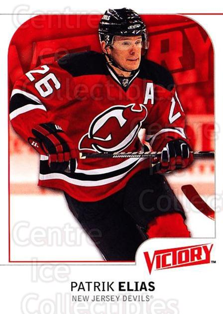 2009-10 UD Victory #119 Patrik Elias<br/>4 In Stock - $1.00 each - <a href=https://centericecollectibles.foxycart.com/cart?name=2009-10%20UD%20Victory%20%23119%20Patrik%20Elias...&quantity_max=4&price=$1.00&code=211086 class=foxycart> Buy it now! </a>