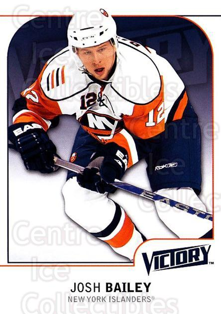 2009-10 UD Victory #122 Josh Bailey<br/>4 In Stock - $1.00 each - <a href=https://centericecollectibles.foxycart.com/cart?name=2009-10%20UD%20Victory%20%23122%20Josh%20Bailey...&quantity_max=4&price=$1.00&code=211089 class=foxycart> Buy it now! </a>