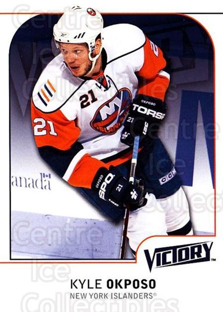 2009-10 UD Victory #125 Kyle Okposo<br/>4 In Stock - $1.00 each - <a href=https://centericecollectibles.foxycart.com/cart?name=2009-10%20UD%20Victory%20%23125%20Kyle%20Okposo...&quantity_max=4&price=$1.00&code=211092 class=foxycart> Buy it now! </a>