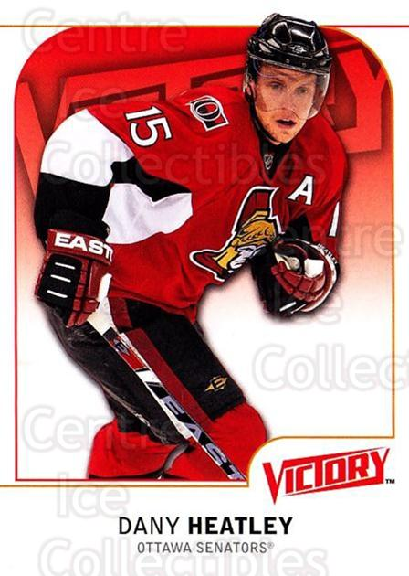 2009-10 UD Victory #139 Dany Heatley<br/>4 In Stock - $1.00 each - <a href=https://centericecollectibles.foxycart.com/cart?name=2009-10%20UD%20Victory%20%23139%20Dany%20Heatley...&quantity_max=4&price=$1.00&code=211106 class=foxycart> Buy it now! </a>