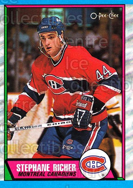1989-90 O-Pee-Chee #153 Stephane Richer<br/>5 In Stock - $1.00 each - <a href=https://centericecollectibles.foxycart.com/cart?name=1989-90%20O-Pee-Chee%20%23153%20Stephane%20Richer...&quantity_max=5&price=$1.00&code=21110 class=foxycart> Buy it now! </a>
