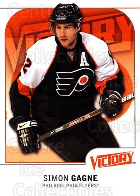 2009-10 UD Victory #147 Simon Gagne<br/>4 In Stock - $1.00 each - <a href=https://centericecollectibles.foxycart.com/cart?name=2009-10%20UD%20Victory%20%23147%20Simon%20Gagne...&quantity_max=4&price=$1.00&code=211114 class=foxycart> Buy it now! </a>