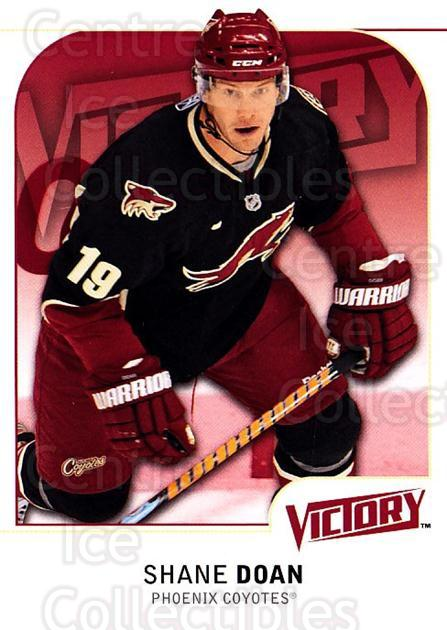 2009-10 UD Victory #148 Shane Doan<br/>4 In Stock - $1.00 each - <a href=https://centericecollectibles.foxycart.com/cart?name=2009-10%20UD%20Victory%20%23148%20Shane%20Doan...&quantity_max=4&price=$1.00&code=211115 class=foxycart> Buy it now! </a>