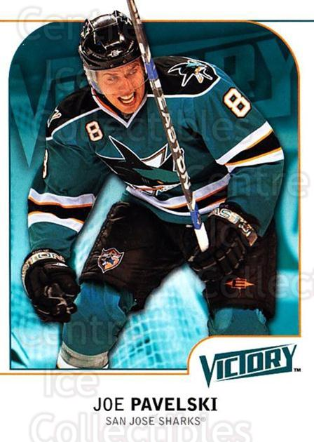 2009-10 UD Victory #163 Joe Pavelski<br/>4 In Stock - $1.00 each - <a href=https://centericecollectibles.foxycart.com/cart?name=2009-10%20UD%20Victory%20%23163%20Joe%20Pavelski...&quantity_max=4&price=$1.00&code=211130 class=foxycart> Buy it now! </a>