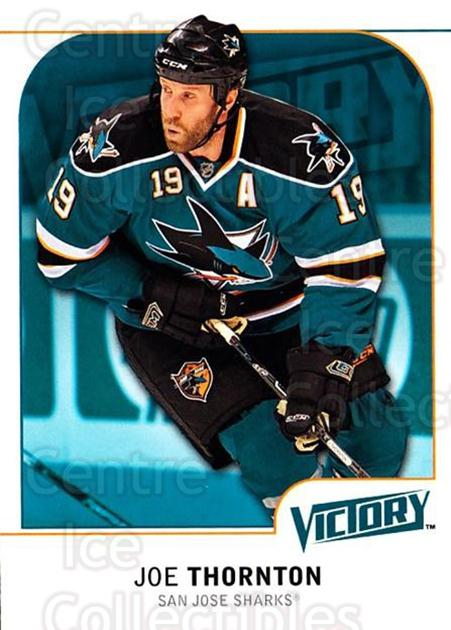 2009-10 UD Victory #168 Joe Thornton<br/>4 In Stock - $1.00 each - <a href=https://centericecollectibles.foxycart.com/cart?name=2009-10%20UD%20Victory%20%23168%20Joe%20Thornton...&quantity_max=4&price=$1.00&code=211135 class=foxycart> Buy it now! </a>