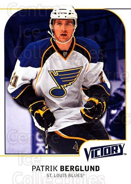 2009-10 UD Victory #171 Patrik Berglund<br/>4 In Stock - $1.00 each - <a href=https://centericecollectibles.foxycart.com/cart?name=2009-10%20UD%20Victory%20%23171%20Patrik%20Berglund...&quantity_max=4&price=$1.00&code=211138 class=foxycart> Buy it now! </a>