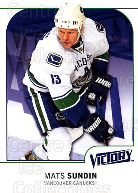2009-10 UD Victory #191 Mats Sundin<br/>4 In Stock - $1.00 each - <a href=https://centericecollectibles.foxycart.com/cart?name=2009-10%20UD%20Victory%20%23191%20Mats%20Sundin...&quantity_max=4&price=$1.00&code=211158 class=foxycart> Buy it now! </a>