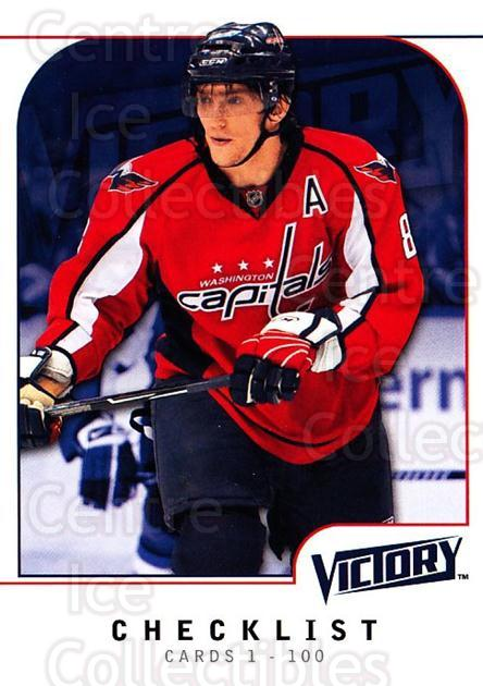 2009-10 UD Victory #200 Alexander Ovechkin, Checklist<br/>3 In Stock - $1.00 each - <a href=https://centericecollectibles.foxycart.com/cart?name=2009-10%20UD%20Victory%20%23200%20Alexander%20Ovech...&price=$1.00&code=211167 class=foxycart> Buy it now! </a>