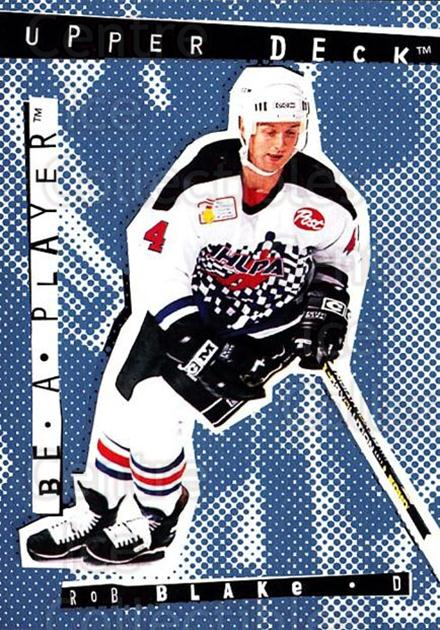 1994-95 Be A Player #40 Rob Blake<br/>7 In Stock - $1.00 each - <a href=https://centericecollectibles.foxycart.com/cart?name=1994-95%20Be%20A%20Player%20%2340%20Rob%20Blake...&quantity_max=7&price=$1.00&code=2112 class=foxycart> Buy it now! </a>