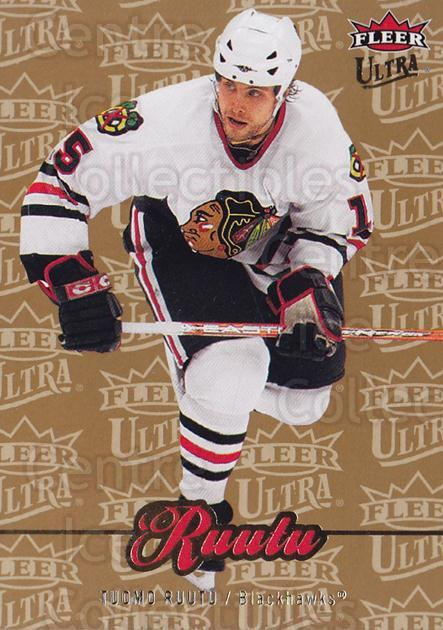 2007-08 Ultra Gold #155 Tuomo Ruutu<br/>2 In Stock - $2.00 each - <a href=https://centericecollectibles.foxycart.com/cart?name=2007-08%20Ultra%20Gold%20%23155%20Tuomo%20Ruutu...&quantity_max=2&price=$2.00&code=211376 class=foxycart> Buy it now! </a>