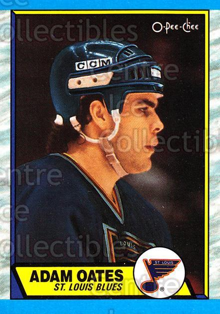 1989-90 O-Pee-Chee #185 Adam Oates<br/>7 In Stock - $2.00 each - <a href=https://centericecollectibles.foxycart.com/cart?name=1989-90%20O-Pee-Chee%20%23185%20Adam%20Oates...&quantity_max=7&price=$2.00&code=21142 class=foxycart> Buy it now! </a>
