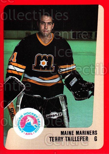 1988-89 ProCards AHL #148 Terry Taillefer<br/>11 In Stock - $2.00 each - <a href=https://centericecollectibles.foxycart.com/cart?name=1988-89%20ProCards%20AHL%20%23148%20Terry%20Taillefer...&price=$2.00&code=21185 class=foxycart> Buy it now! </a>