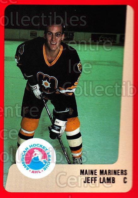 1988-89 ProCards AHL #150 Jeff Lamb<br/>13 In Stock - $2.00 each - <a href=https://centericecollectibles.foxycart.com/cart?name=1988-89%20ProCards%20AHL%20%23150%20Jeff%20Lamb...&price=$2.00&code=21188 class=foxycart> Buy it now! </a>