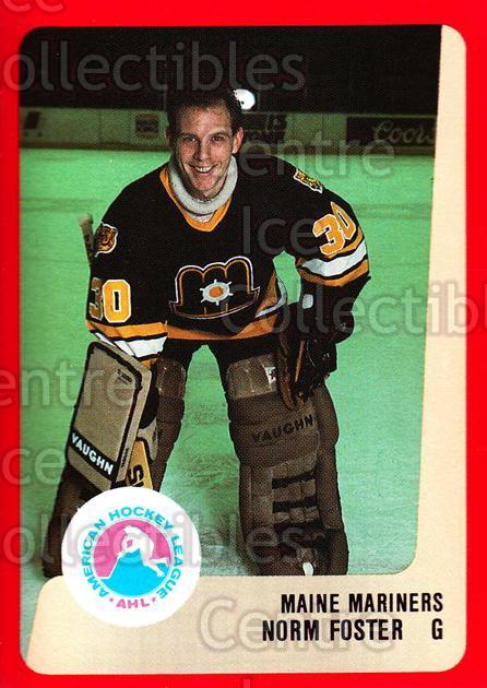 1988-89 ProCards AHL #154 Norm Foster<br/>9 In Stock - $2.00 each - <a href=https://centericecollectibles.foxycart.com/cart?name=1988-89%20ProCards%20AHL%20%23154%20Norm%20Foster...&price=$2.00&code=21192 class=foxycart> Buy it now! </a>