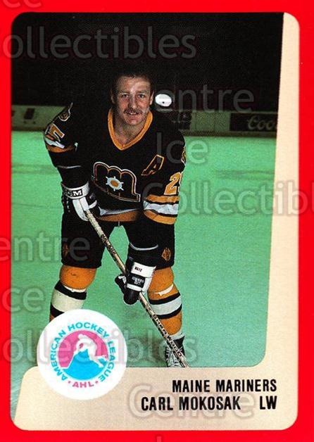1988-89 ProCards AHL #156 Carl Mokosak<br/>4 In Stock - $2.00 each - <a href=https://centericecollectibles.foxycart.com/cart?name=1988-89%20ProCards%20AHL%20%23156%20Carl%20Mokosak...&price=$2.00&code=21194 class=foxycart> Buy it now! </a>