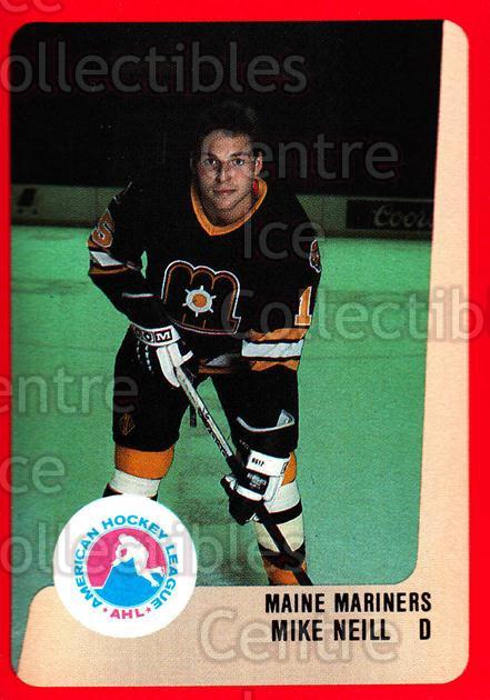 1988-89 ProCards AHL #157 Mike Neill<br/>10 In Stock - $2.00 each - <a href=https://centericecollectibles.foxycart.com/cart?name=1988-89%20ProCards%20AHL%20%23157%20Mike%20Neill...&price=$2.00&code=21195 class=foxycart> Buy it now! </a>