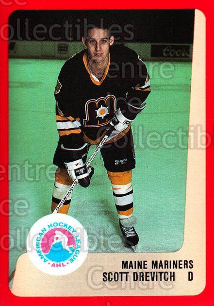 1988-89 ProCards AHL #160 Scott Drevitch<br/>12 In Stock - $2.00 each - <a href=https://centericecollectibles.foxycart.com/cart?name=1988-89%20ProCards%20AHL%20%23160%20Scott%20Drevitch...&price=$2.00&code=21199 class=foxycart> Buy it now! </a>