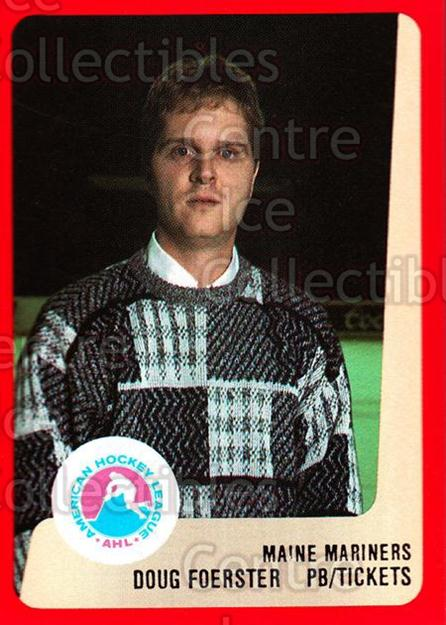 1988-89 ProCards AHL #165 Doug Foerster<br/>14 In Stock - $2.00 each - <a href=https://centericecollectibles.foxycart.com/cart?name=1988-89%20ProCards%20AHL%20%23165%20Doug%20Foerster...&quantity_max=14&price=$2.00&code=21204 class=foxycart> Buy it now! </a>