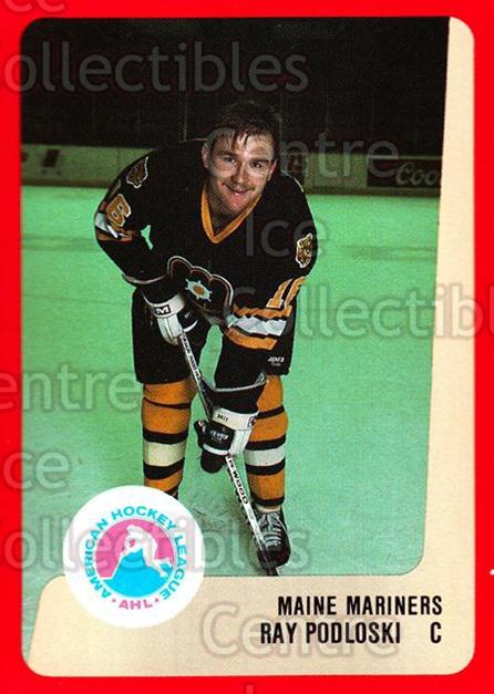 1988-89 ProCards AHL #167 Ray Podloski<br/>4 In Stock - $2.00 each - <a href=https://centericecollectibles.foxycart.com/cart?name=1988-89%20ProCards%20AHL%20%23167%20Ray%20Podloski...&quantity_max=4&price=$2.00&code=21206 class=foxycart> Buy it now! </a>