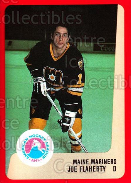 1988-89 ProCards AHL #169 Joe Flaherty<br/>13 In Stock - $2.00 each - <a href=https://centericecollectibles.foxycart.com/cart?name=1988-89%20ProCards%20AHL%20%23169%20Joe%20Flaherty...&price=$2.00&code=21208 class=foxycart> Buy it now! </a>