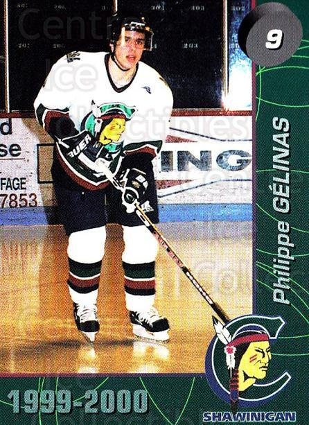 1999-00 Shawinigan Cataractes #2 Philippe Gelinas<br/>1 In Stock - $3.00 each - <a href=https://centericecollectibles.foxycart.com/cart?name=1999-00%20Shawinigan%20Cataractes%20%232%20Philippe%20Gelina...&quantity_max=1&price=$3.00&code=212135 class=foxycart> Buy it now! </a>