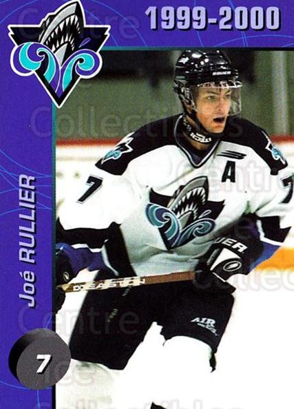 1999-00 Rimouski Oceanic #2 Joe Rullier<br/>1 In Stock - $3.00 each - <a href=https://centericecollectibles.foxycart.com/cart?name=1999-00%20Rimouski%20Oceanic%20%232%20Joe%20Rullier...&quantity_max=1&price=$3.00&code=212161 class=foxycart> Buy it now! </a>