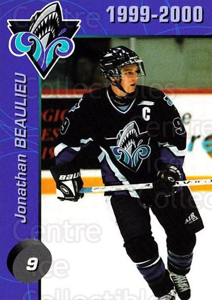 1999-00 Rimouski Oceanic #3 Jonathan Beaulieu<br/>4 In Stock - $3.00 each - <a href=https://centericecollectibles.foxycart.com/cart?name=1999-00%20Rimouski%20Oceanic%20%233%20Jonathan%20Beauli...&quantity_max=4&price=$3.00&code=212162 class=foxycart> Buy it now! </a>