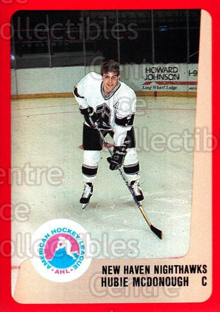 1988-89 ProCards AHL #195 Hubie McDonough<br/>10 In Stock - $2.00 each - <a href=https://centericecollectibles.foxycart.com/cart?name=1988-89%20ProCards%20AHL%20%23195%20Hubie%20McDonough...&quantity_max=10&price=$2.00&code=21234 class=foxycart> Buy it now! </a>