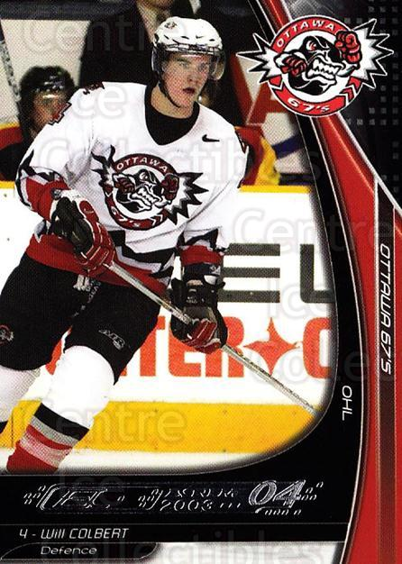 2003-04 Ottawa 67s #2 Will Colbert<br/>2 In Stock - $3.00 each - <a href=https://centericecollectibles.foxycart.com/cart?name=2003-04%20Ottawa%2067s%20%232%20Will%20Colbert...&quantity_max=2&price=$3.00&code=212404 class=foxycart> Buy it now! </a>