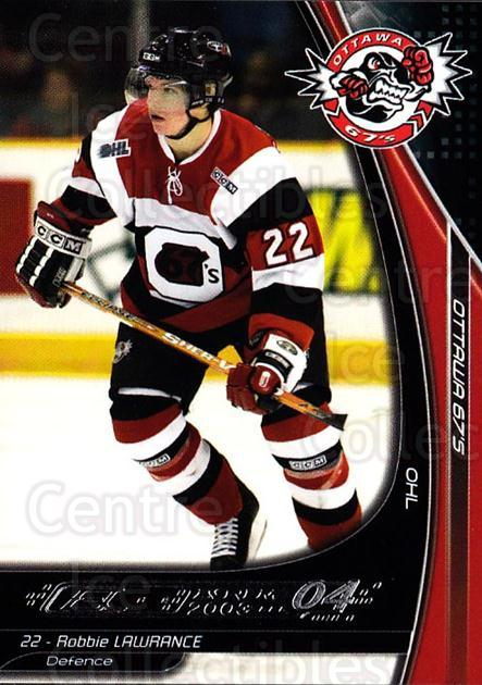 2003-04 Ottawa 67s #15 Robbie Lawrence<br/>3 In Stock - $3.00 each - <a href=https://centericecollectibles.foxycart.com/cart?name=2003-04%20Ottawa%2067s%20%2315%20Robbie%20Lawrence...&quantity_max=3&price=$3.00&code=212417 class=foxycart> Buy it now! </a>
