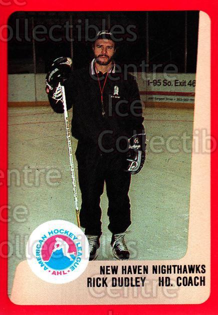 1988-89 ProCards AHL #201 Rick Dudley<br/>13 In Stock - $2.00 each - <a href=https://centericecollectibles.foxycart.com/cart?name=1988-89%20ProCards%20AHL%20%23201%20Rick%20Dudley...&price=$2.00&code=21242 class=foxycart> Buy it now! </a>