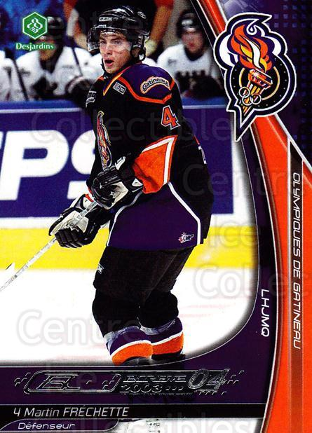 2003-04 Olympiques De Gatineau #11 Martin Frechette<br/>2 In Stock - $3.00 each - <a href=https://centericecollectibles.foxycart.com/cart?name=2003-04%20Olympiques%20De%20Gatineau%20%2311%20Martin%20Frechett...&price=$3.00&code=212430 class=foxycart> Buy it now! </a>